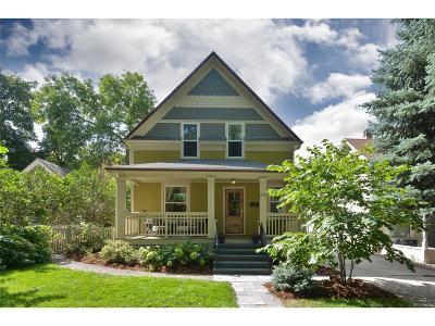 Longmont Single Family Home Under Contract: 317 Pratt Street