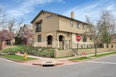 Denver Single Family Home Active: 490 South Race Street