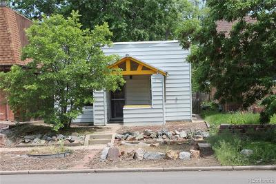 Denver Single Family Home Active: 1452 South Logan Street