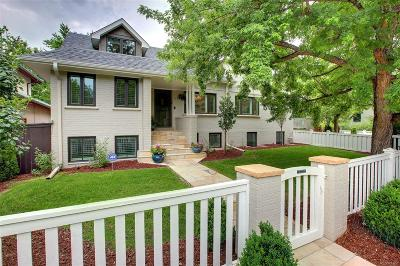 Denver Country Club Single Family Home Active: 303 Vine Street