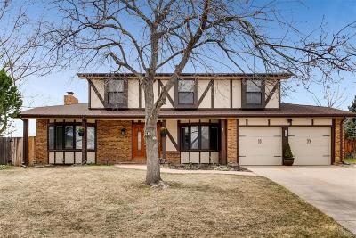 Littleton Single Family Home Under Contract: 11582 West Berry Avenue