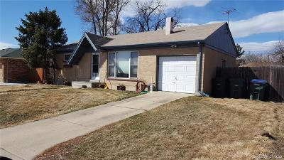 Northglenn Single Family Home Active: 10883 Pearl Court
