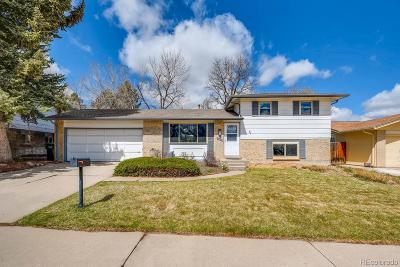 Centennial Single Family Home Under Contract: 6595 South Cherry Way