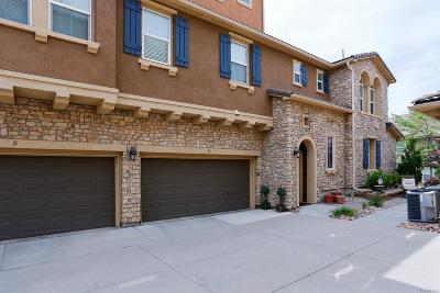 Highlands Ranch Condo/Townhouse Under Contract: 9383 Loggia Street #B