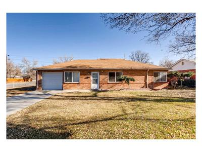 Aurora, Denver Single Family Home Under Contract: 896 Salem Street