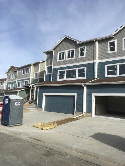 Castle Rock Condo/Townhouse Active: 1728 Valley Oak Court