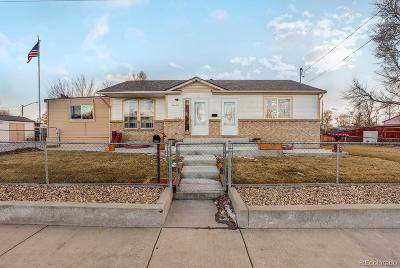 Commerce City Single Family Home Under Contract: 6580 East 78th Avenue