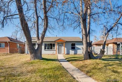 Denver Single Family Home Active: 3115 North Clayton Street