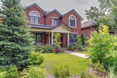 Denver Single Family Home Active: 2366 South Josephine Street