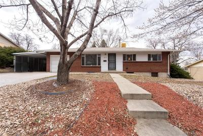 Denver Single Family Home Under Contract: 2774 South Winona Court