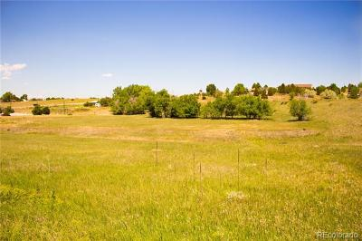 Parker CO Residential Lots & Land Active: $279,000