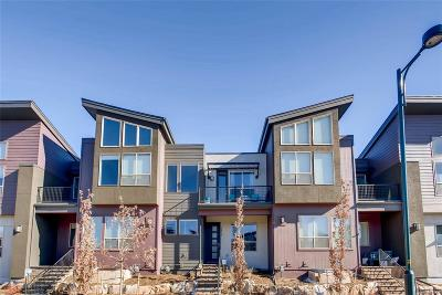 Denver Condo/Townhouse Active: 5494 Valentia Street
