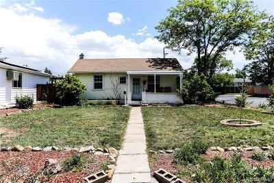 Aurora Single Family Home Active: 1000 Elmira Street