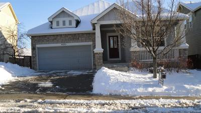Castle Rock Single Family Home Under Contract: 4275 Prairie Rose Circle