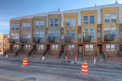 Denver Condo/Townhouse Active: 2680 Blake Street #4