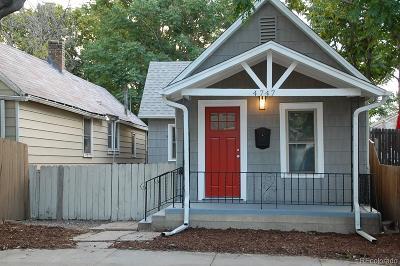 Denver Single Family Home Active: 4747 Grant Street