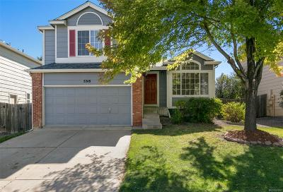 Castle Rock Single Family Home Active: 5248 Galena Avenue