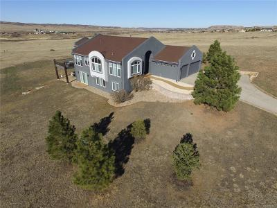 Castle Rock Single Family Home Under Contract: 455 Bell Star Circle
