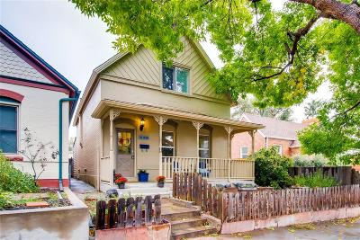 Denver Single Family Home Under Contract: 2812 Quitman Street
