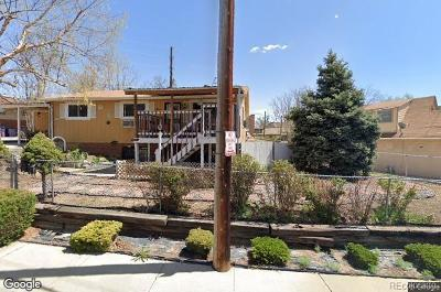 Denver Single Family Home Active: 3260 North Irving Street