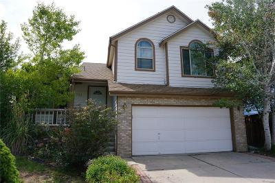 Highlands Ranch Single Family Home Under Contract: 754 Homestead Drive