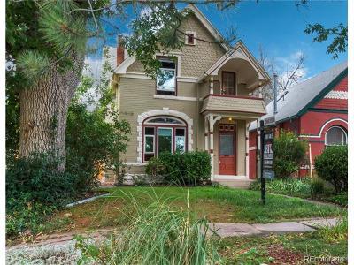 Denver Single Family Home Active: 2227 Hooker Street