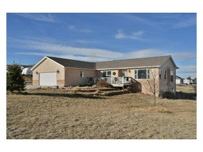 Elbert County Single Family Home Under Contract: 5633 Columbine Ridge Road