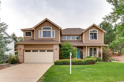 Castle Rock Single Family Home Under Contract: 1414 Whitetail Drive