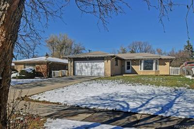 Broomfield Single Family Home Under Contract: 985 West Midway Boulevard