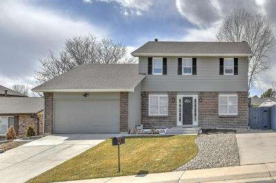 Westminster Single Family Home Under Contract: 8959 Winona Court