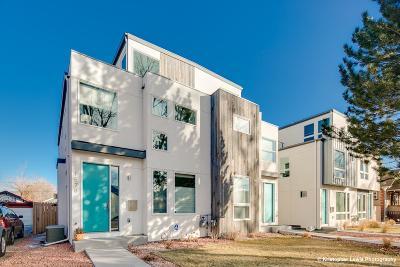 Denver Condo/Townhouse Active: 1578 Osceola Street