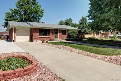 Aurora Single Family Home Active: 3157 Salem Street