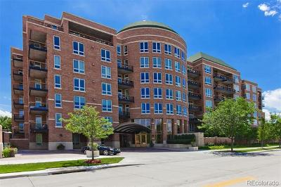 Condo/Townhouse Active: 2400 East Cherry Creek South Drive #308