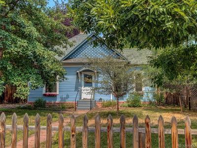 Longmont Single Family Home Under Contract: 102 Longs Peak Avenue