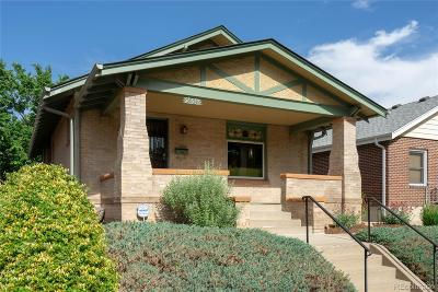 Denver Single Family Home Under Contract: 3836 Newton Street