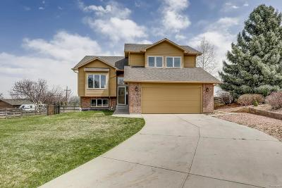 Niwot Single Family Home Under Contract: 6898 Paiute Avenue