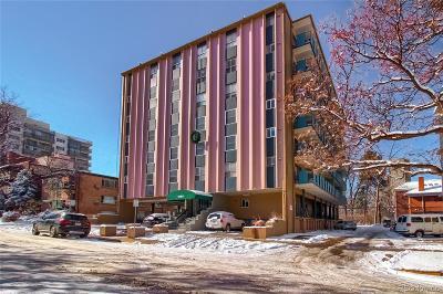 Denver Condo/Townhouse Under Contract: 1265 Race Street #301