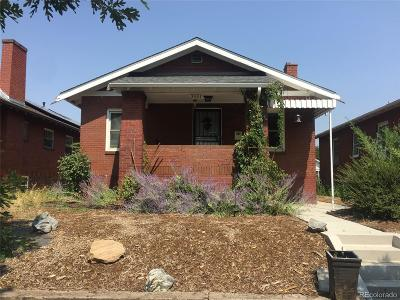 Denver Single Family Home Under Contract: 3351 West 36th Avenue