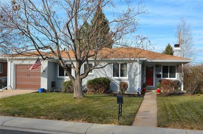 Denver Single Family Home Under Contract: 5523 East Utah Place