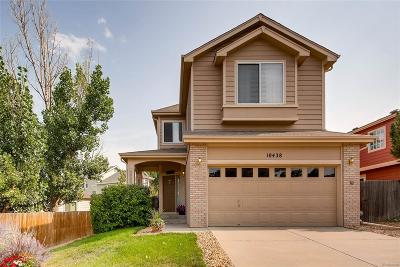 Littleton Single Family Home Under Contract: 10438 Ellison Place