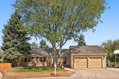 Centennial Single Family Home Under Contract: 7099 East Easter Place