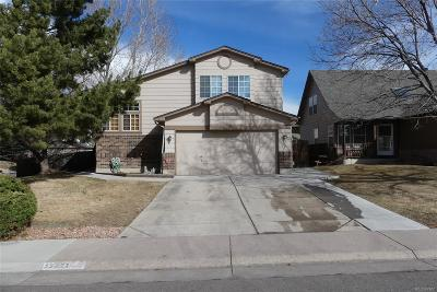 Littleton Single Family Home Under Contract: 12621 West Brandt Drive