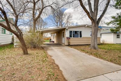 Longmont Single Family Home Under Contract: 1509 Emery Street
