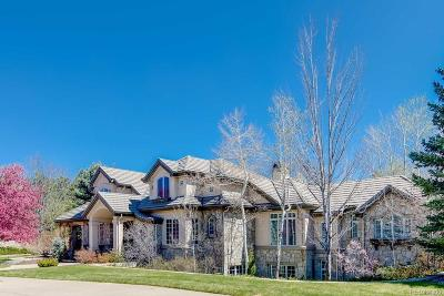 Cherry Hills Village CO Single Family Home Under Contract: $3,250,000