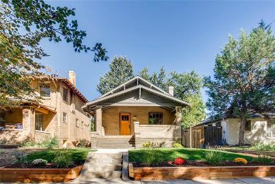 Denver Single Family Home Active: 1350 Cook Street