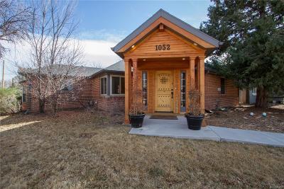 Denver Single Family Home Active: 1052 Pontiac Street
