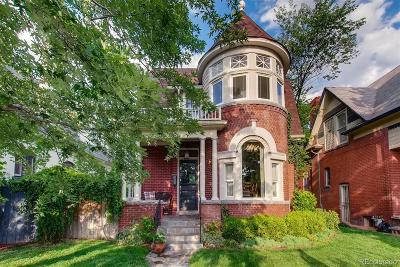 Denver Single Family Home Active: 1012 South Pearl Street