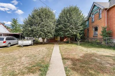 Denver Single Family Home Active: 3746 Clay Street