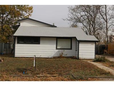 Denver Single Family Home Active: 2680 South Hooker Street