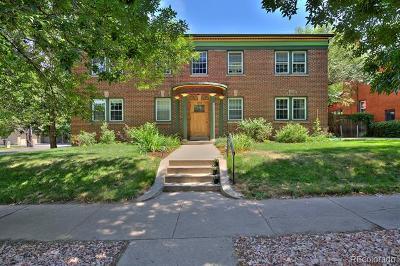 Denver Condo/Townhouse Active: 1374 Milwaukee Street #1